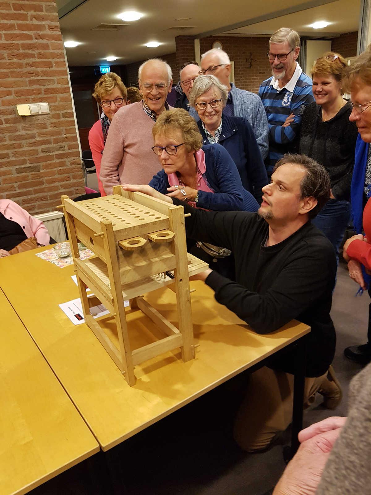 Bijeenkomst restauratie orgel op 8 oktober 2019